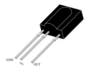 tsop17xx pinout diagram